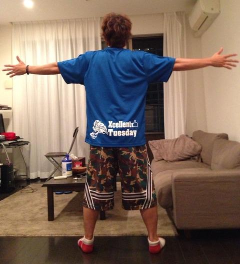五右衛門Tシャツ2014モデルwith我が家