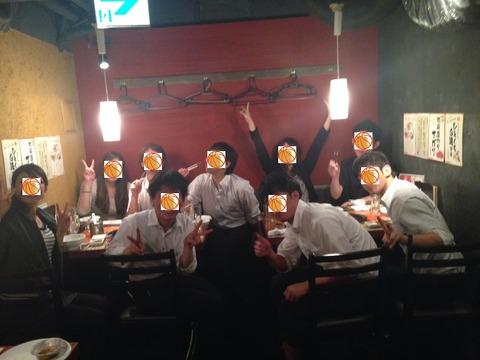 焼肉食べたいっていうことから牛角@浜松町にいきました