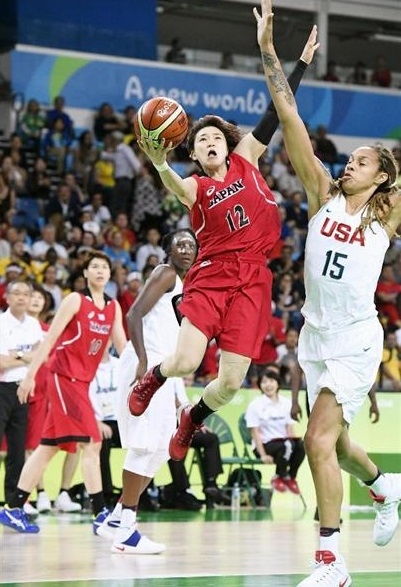 【リオ五輪女子日本代表】準々決勝vsアメリカ